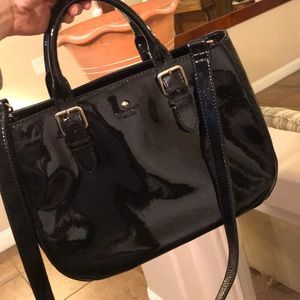 Kate Spade Black patent leather bag